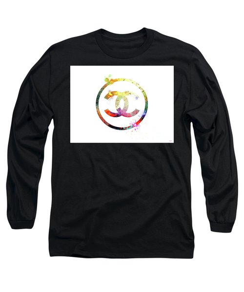 Chanel Logo Long Sleeve T-Shirt