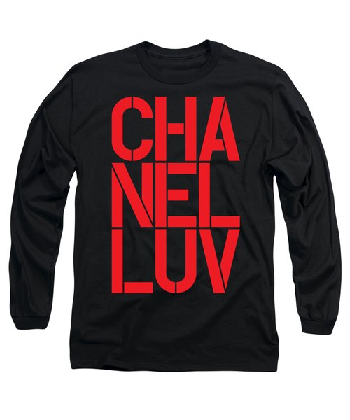 Chanel Luv-3 Long Sleeve T-Shirt