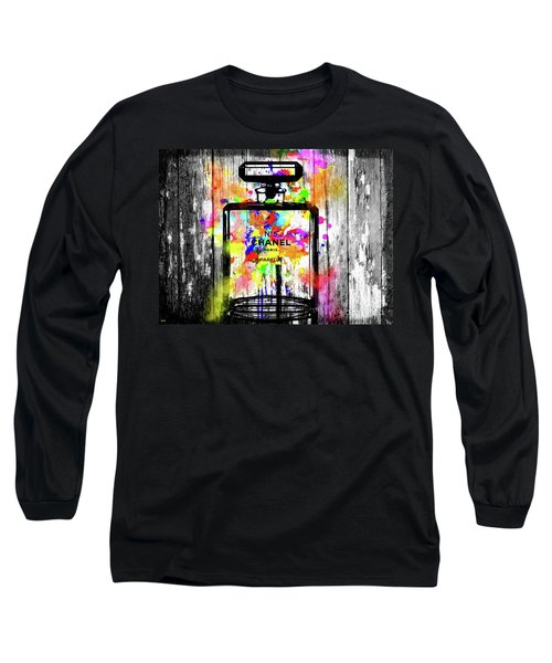 Chanel No. 5  Wooden Long Sleeve T-Shirt