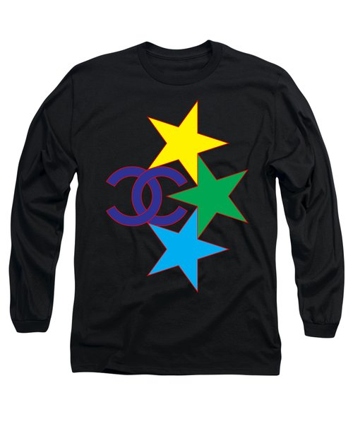 Chanel Stars-1 Long Sleeve T-Shirt