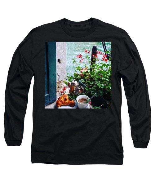 Chanel View Breakfast In Venezia Long Sleeve T-Shirt