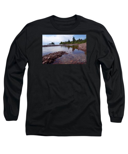 Long Sleeve T-Shirt featuring the photograph Changing Channels by Sandra Updyke