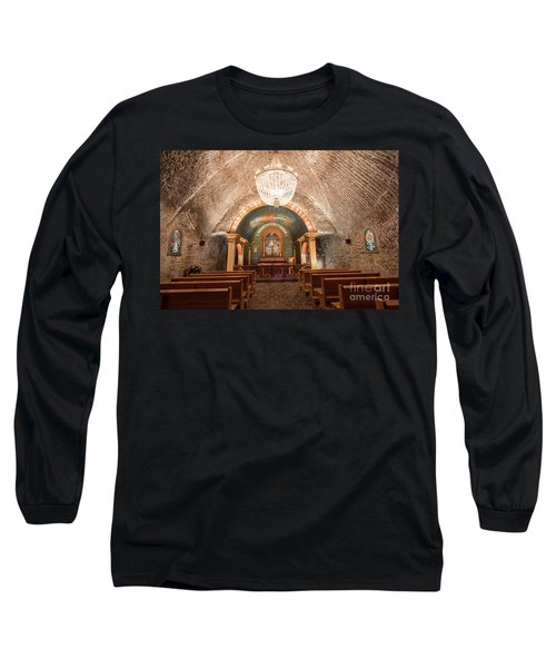Long Sleeve T-Shirt featuring the photograph Chapel  by Juli Scalzi