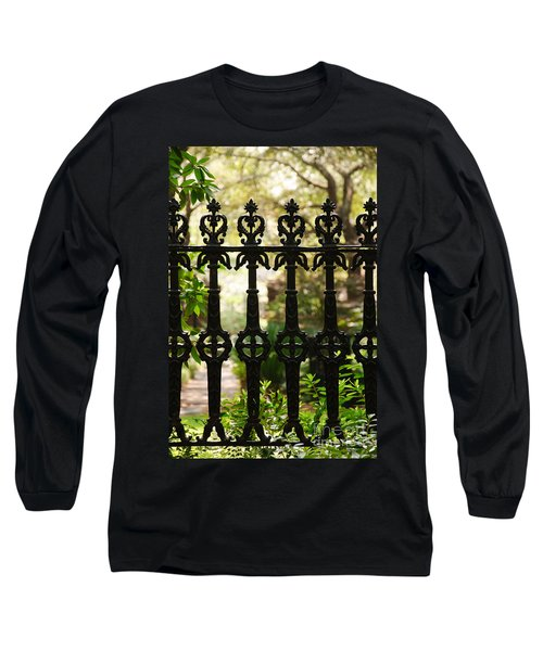 Charleston Fence Long Sleeve T-Shirt