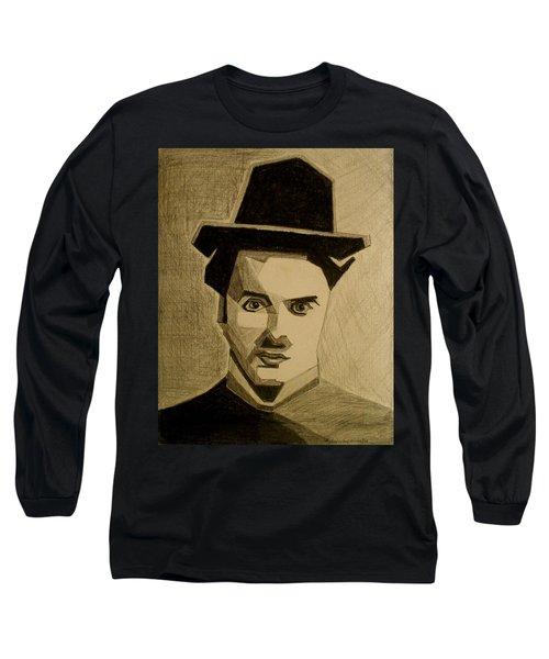 Charlie Chapplin Long Sleeve T-Shirt