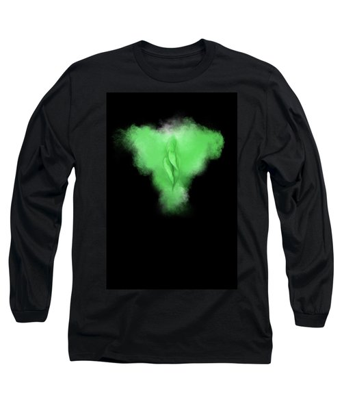 Charlize Green Long Sleeve T-Shirt