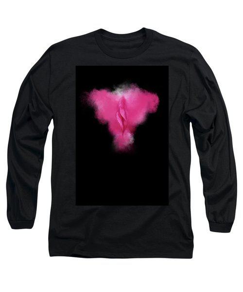 Charlize Pink Long Sleeve T-Shirt