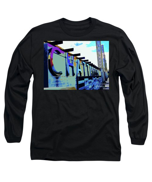 Chattanooga Tennessee Sign Long Sleeve T-Shirt