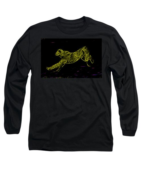 Cheetah Body Built For Speed Long Sleeve T-Shirt