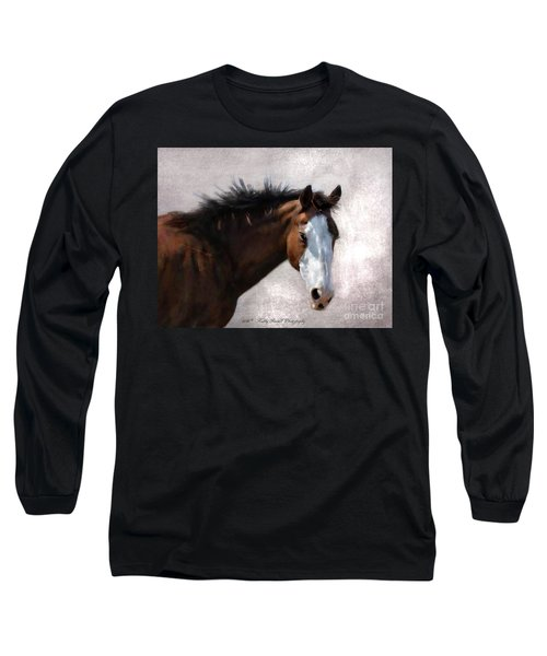 Cherokee Long Sleeve T-Shirt by Kathy Russell