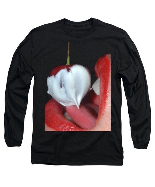 Cherries And Cream Long Sleeve T-Shirt