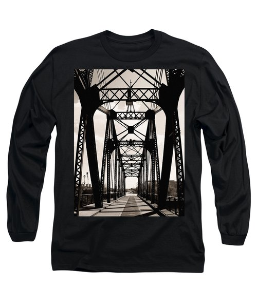 Cherry Avenue Bridge Long Sleeve T-Shirt