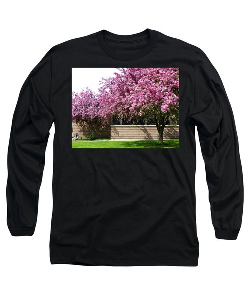 Cherry Blossoms 1 Long Sleeve T-Shirt by Will Borden