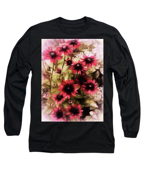 Cherry Brandy Long Sleeve T-Shirt