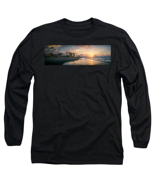 Cherry Grove Panoramic Sunrise Long Sleeve T-Shirt