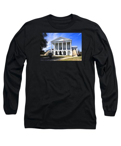 Chester South Carolina Court House Day 1 Long Sleeve T-Shirt