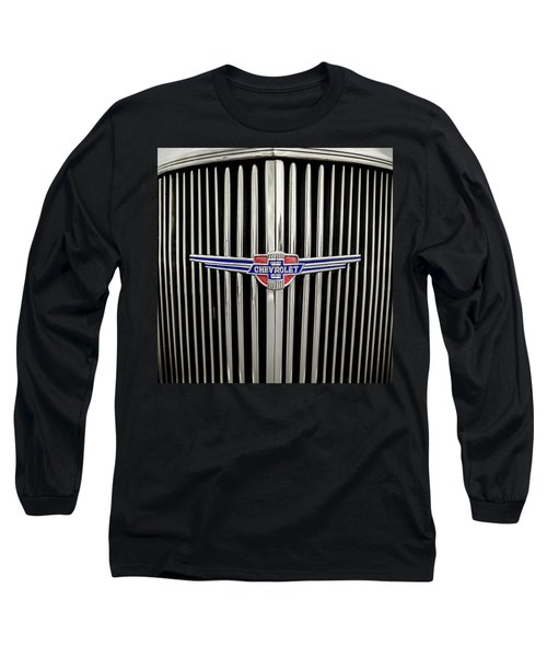 Chevrolet Long Sleeve T-Shirt by Caitlyn Grasso