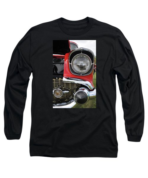 Long Sleeve T-Shirt featuring the photograph Chevy Bel Air by Glenn Gordon
