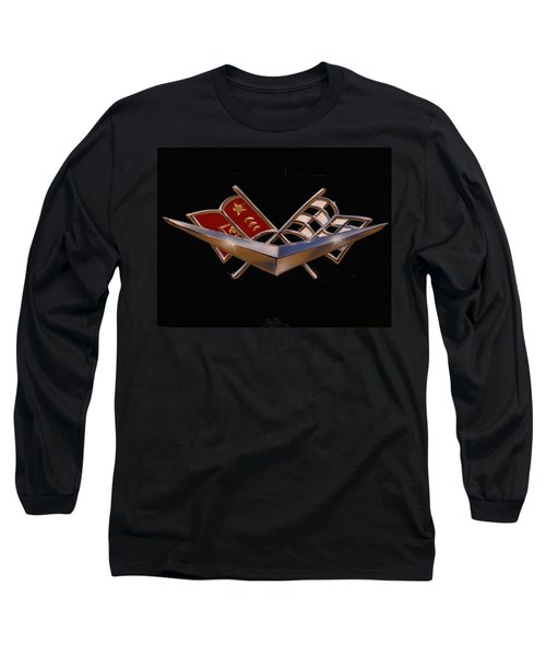 Chevy Flags  Long Sleeve T-Shirt