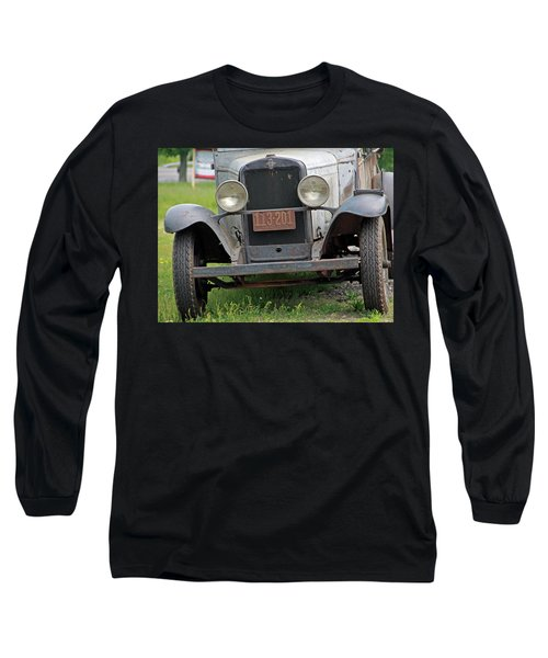 Chevy Huckster 1930 Grill Long Sleeve T-Shirt