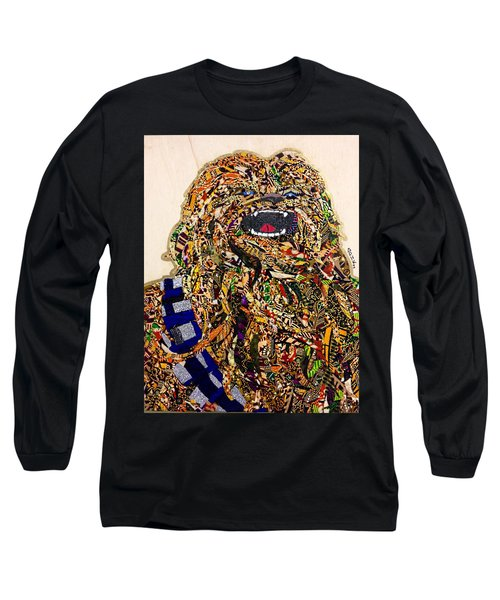 Chewbacca Star Wars Awakens Afrofuturist Collection Long Sleeve T-Shirt