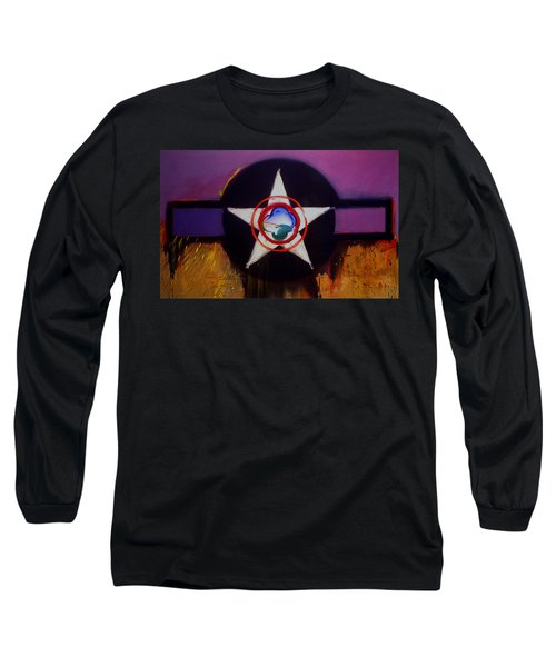 Long Sleeve T-Shirt featuring the painting Cheyenne Autumn by Charles Stuart