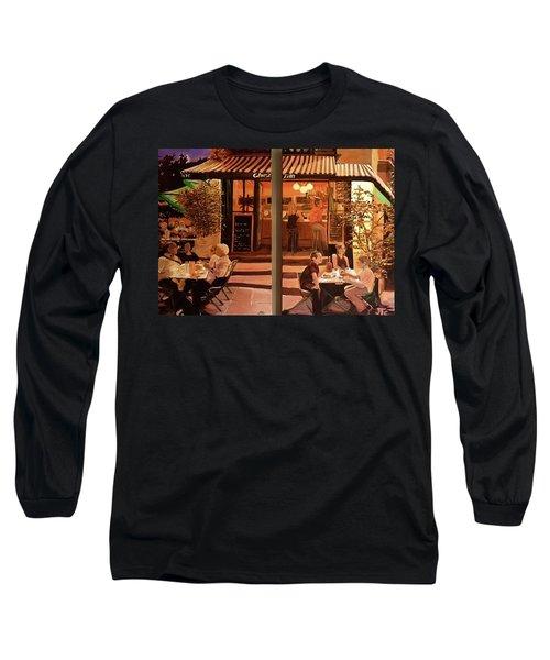 Chez Tim Long Sleeve T-Shirt by Julie Todd-Cundiff