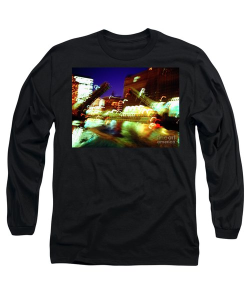 Chicago River Bridge #1  Long Sleeve T-Shirt