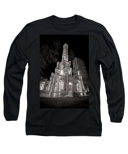 Chicago Water Tower Long Sleeve T-Shirt