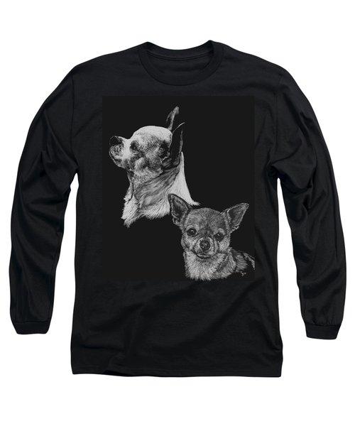 Chihuahua Long Sleeve T-Shirt by Rachel Hames