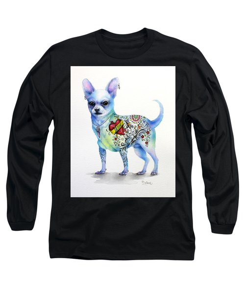 Chihuahua Topo Long Sleeve T-Shirt by Patricia Lintner