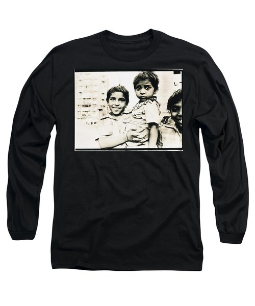 Of Hope And Fear, Children In Mexico Long Sleeve T-Shirt