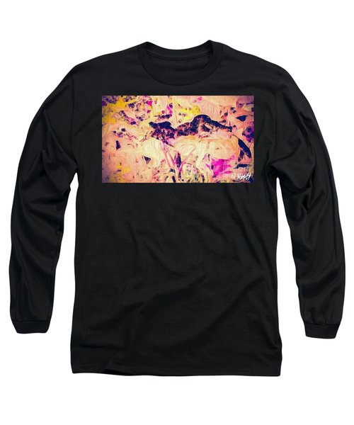 Long Sleeve T-Shirt featuring the photograph China Garden by William Wyckoff
