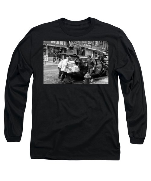 Chinatown Delivery Long Sleeve T-Shirt
