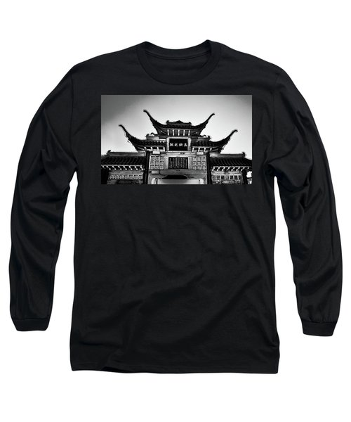 Chinatown L A Long Sleeve T-Shirt
