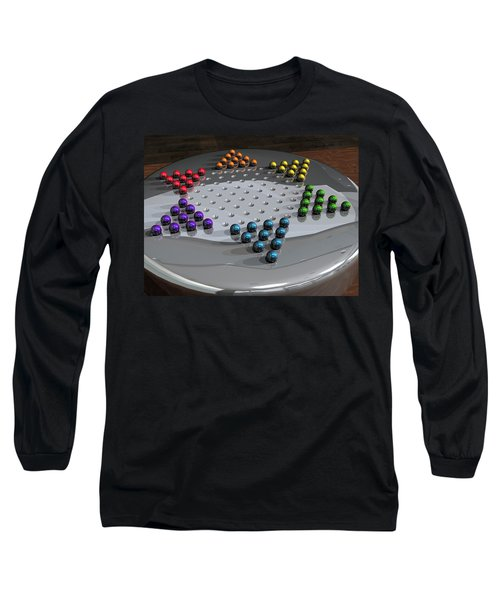 Chinese Checkers Long Sleeve T-Shirt