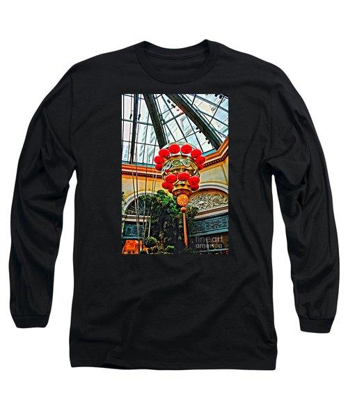 Chinese Lantern Long Sleeve T-Shirt