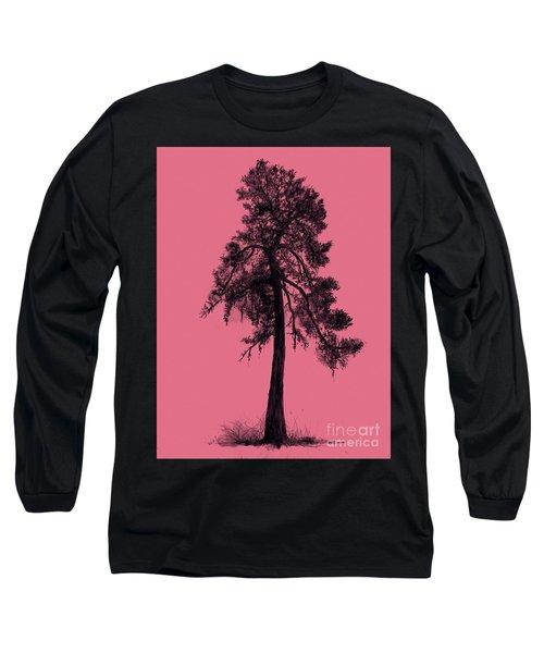 Chinese Pine Tree Long Sleeve T-Shirt