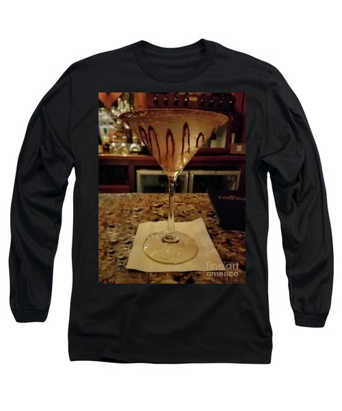 Chocolate Martini Long Sleeve T-Shirt