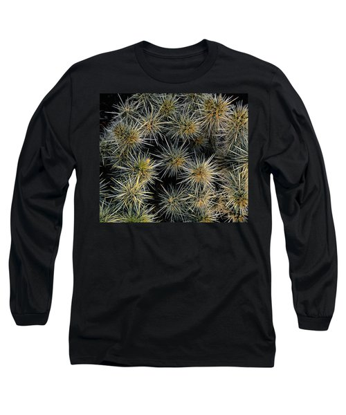 Cholla Cactus Cluster Long Sleeve T-Shirt