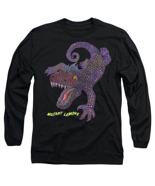Chomp Long Sleeve T-Shirt by Jordan Kotter