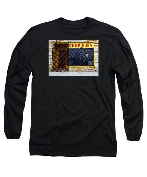 Chop Suey Long Sleeve T-Shirt by David Gilbert