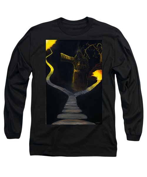 Chosen Path Long Sleeve T-Shirt by Brian Wallace