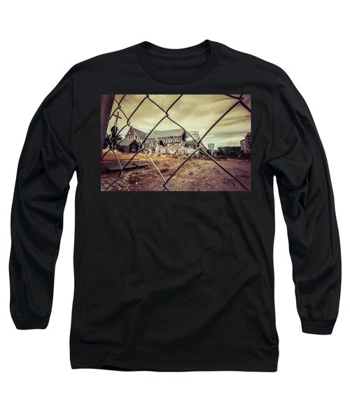 Long Sleeve T-Shirt featuring the photograph Christchurch Cathedral by Chris Cousins