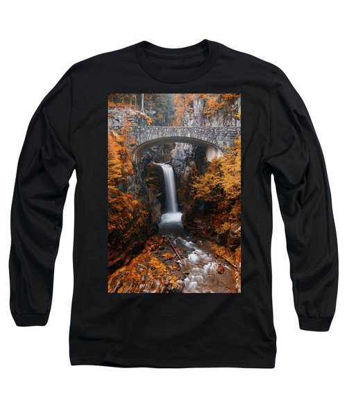 Christine Falls - Digital Oil Long Sleeve T-Shirt