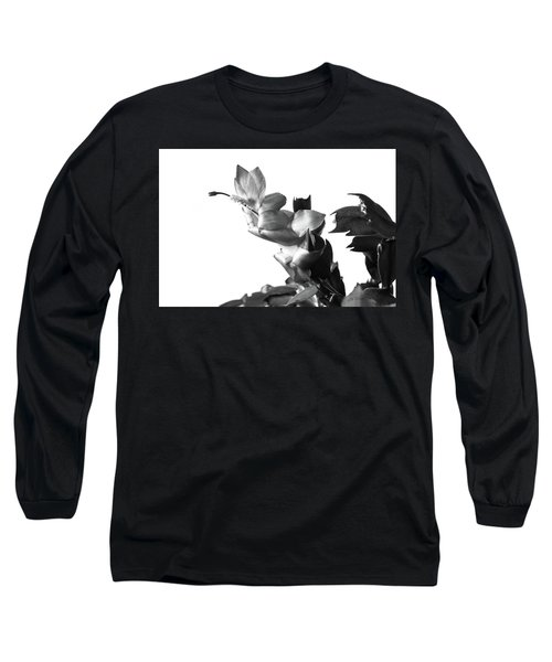 Long Sleeve T-Shirt featuring the photograph Christmas Cactus by Ed Cilley