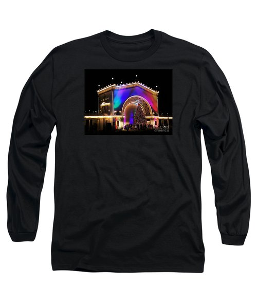 Christmas Celebration In San Diego  Long Sleeve T-Shirt by Jasna Gopic