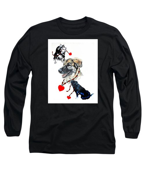 Christmas Doggies Long Sleeve T-Shirt