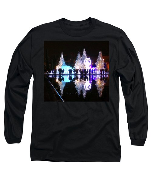 Christmas In Nizza, Southern France Long Sleeve T-Shirt