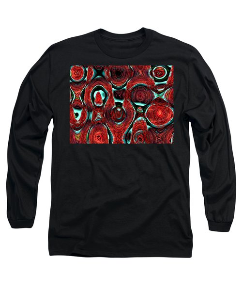 Christmas Ornaments--back In The Box Long Sleeve T-Shirt